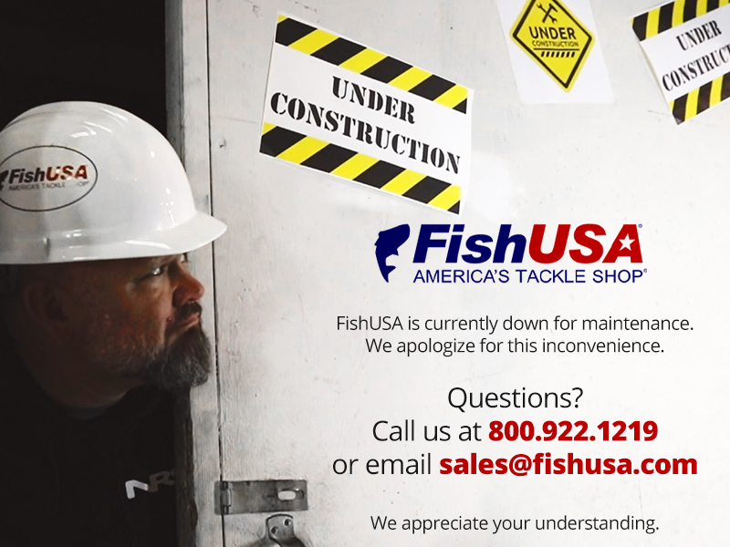 FishUSA is currently down for maintenance